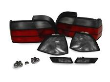 DEPO 92-96 BMW E36 2D/CABRIO SMOKE CORNER+TAIL+SIDE MARKER LIGHT+CHROME BULB M3