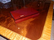 LIMITED EDITION HAND POLISHED 10 CIGAR DESK HUMIDOR W/GIFT BOX