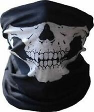 Neoprene Half Face Skull Mask Motorcycle Hunting Neck Warmer Outdoor Military