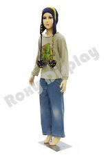 Child Plastic Realistic Mannequin Dress Form Display #PS-D1/D02+FREE Wig