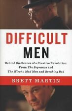 Difficult Men: Behind the Scenes of a Creative Revolution: From The Sopranos and