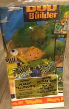 "NEW BOB THE BUILDER PLASTIC TABLECOVER  54' x  84""  PARTY SUPPLIES TWO Included"
