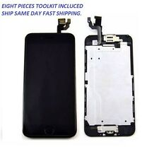"iPhone 6 4.7"" Black LCD Lens Touch Screen Digitizer Assembly Replacement + TOOLS"