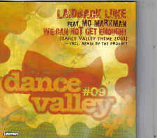 Laidback Luke-We Can Not Get Enough cd single Dance Valley theme 2003
