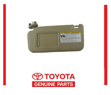 GENUINE TOYOTA RAV4 SUN VISOR TAN DRIVER LEFT  74320-42501-A1 NEW  2006-2009