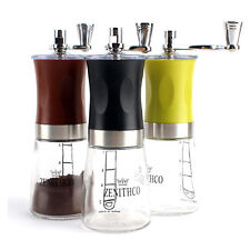 [UK] ZENITHCO Cofee Grinder Mini Hand Mill Portable Handheld 3Colors MG-731