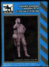 Blackdog Models 1/35 ISRAELI WOMAN SOLDIER Resin Figure #4