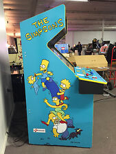 Simpsons Side Art Set - Arcade Video Game - Konami Dedicated Cab