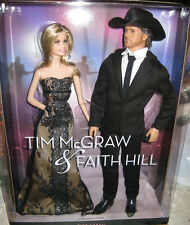 Barbie & Ken Tim McGraw & Faith Hill Dolls NRFB Pink Label Mattel