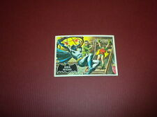 BATMAN card #38 Topps 1966 black bat/orange back