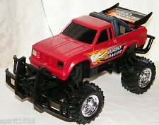 Turbo Ranger Remote / Radio Controlled Red Truck 49 MHz - Clean & Ready to Go!