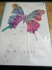 Fabulous Papyrus Happy Birthday Card Lots Of Style with Butterfly on front