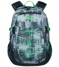 ZAINO THE NORTH FACE BOREALIS GREY FOREST PRINT BACKPACK TREKKING NEW