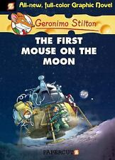 Geronimo Stilton Graphic Novels #14: The First Mouse on the Moon-ExLibrary