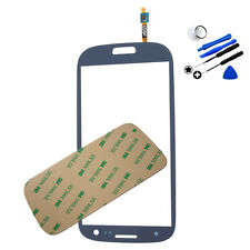 Geniune Blue Front Screen Glass+Digitizer Sensor for Samsung Galaxy S3 i9300