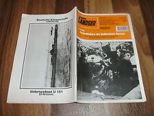 LANDSER 1914 -- FEINDFAHRT IM INDISCHEN OZEAN / Einsatz deutscher Monsun-U-Boote