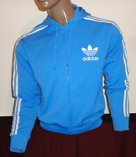 ADIDAS ORIGINALS TRACKSUIT HOODED JACKET TRACK TOP RETRO TRACKY VTG HOODY Mans M