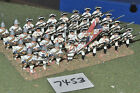25mm seven years war french infantry 36 figures (7453) painted metal