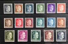 Germany o/p Ukraine over 1941 Hitler stamps. Mint NH set missing 25rpf.