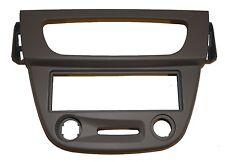 Façade cadre réducteur adaptateur gris autoradio 1DIN pour Renault Mégane 3