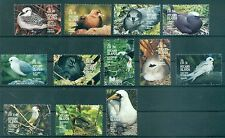 OISEAUX - BIRDS PITCAIRN ISLANDS 1995 Common Stamps