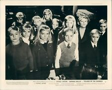VILLAGE OF THE DAMNED ORIGINAL LOBBY CARD CLASSIC RARE 1960