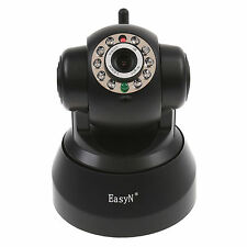 EasyN Wireless IP Camera Pan Tilt Record Motion P2P Audio WiFi Smarpthone view