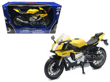 2016 YAMAHA YZF-R1 YELLOW 1/12 MOTORCYCLE MODEL BY NEW RAY 57803 B