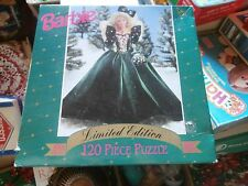 Limited Edition BARBIE 1991 Collector Doll Christmas Holiday 120pc Puzzle Sealed
