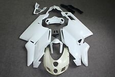 Unpainted ABS Injection Bodywork Fairing Plastic for DUCATI 999 749 2005 2006