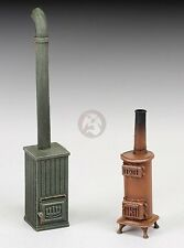 Royal Model 1/35 Coal Stoves WWII (2 pieces) (Resin Diorama Model kit) 744