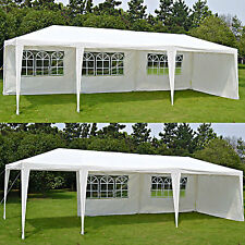 Outdoor Party Canopy Tent Wedding Gazebo Pavilion 10'x30' Portable Shelter NEW