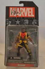 BISHOP marvel infinite series SIGNED WHILCE PORTACIO action figure SEALED new