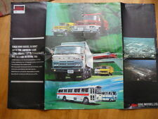 Large HINO POSTER TYPE BROCHURE  jm