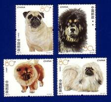 China 2006-6 Dogs Stamp Set MNH !