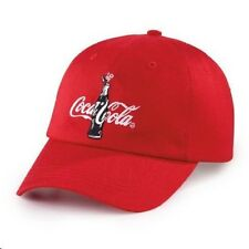 COCA COLA COKE RED COMMEMORATIVE 100TH ANNIVERSARY OF CONTOUR BOTTLE HAT  NEW!!