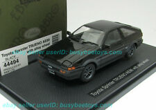1/43 EBBRO 44494 TOYOTA AE86 SPRINTER TRUENO Black diecast metal model car