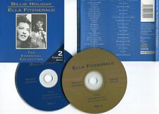"HOLIDAY & FITZGERALD ""The essential collection"" (2 CD)"