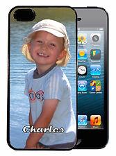 Coque de protection iPhone 4 / 4S personnalisée avec photo + prénom
