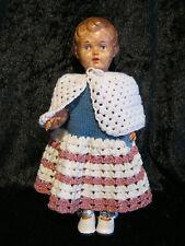 Vieja muñeca schildkröt Ursel tamaño 29, de colección de resolución
