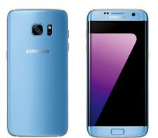 "New Imported Samsung Galaxy S7 Edge Duos Dual 32GB 4GB 5.5"" 12.0MP 4G LTE Blue"