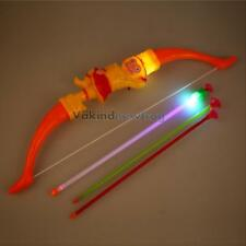Brand New Bow and LED Arrow Sets Kids Children Safe Archery Bow Toy Great Gift