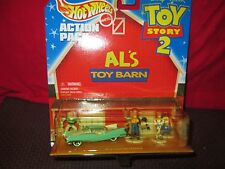 "HOT WHEELS TOY STORY II ""AL'S BARN"" 1/64th scale Car & Figures -MIB- Excellent!"