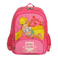 Official Winx Club Stella Fairy Pink NEW Quality Backpack Rucksack Girls Bag