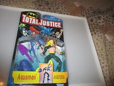 Total Justice League Kenner 1996 AQUAMAN Grey Armor Action Figure Sealed