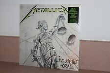 Metallica..and Justice for All NEW SEALED 2 vinyl LP Blackened Records US seller
