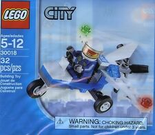 LEGO 30018 CITY Police Microlight - Brand New Sealed Free Shipping