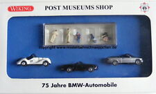 Wiking 81-25, 75 Jahre BMW-Automobile Post Museums Shop, H0