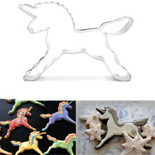 FD2785 Unicorn Horse Stainless Steel Cookie Cutter Cake Baking Mould Biscuit ☆