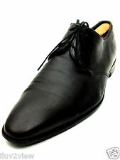 Hugo Boss Men's  Leather Oxford Dress Shoes Brown Size 11 US.